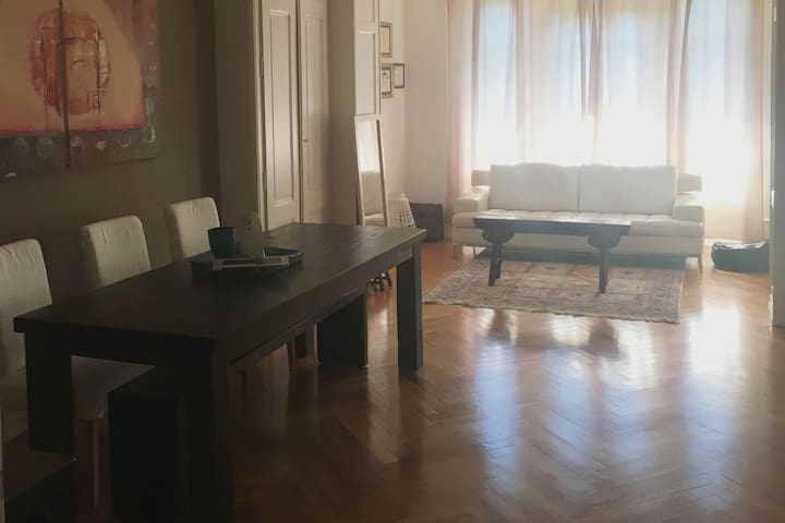 Spacious, old world design flat in central Geneva! - Cologny - Lägenhet