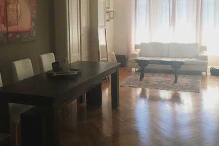 Spacious, old world design flat in central Geneva! - Cologny - Appartement