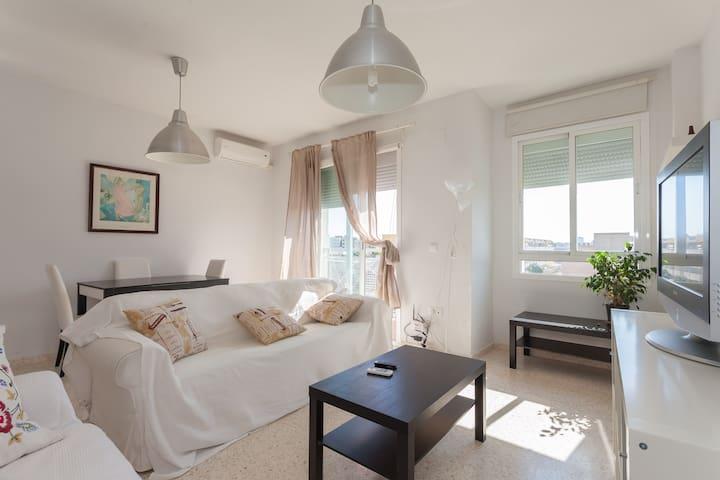 Ático tranquilo, terraza 50 metros - Jerez de la Frontera - Apartment