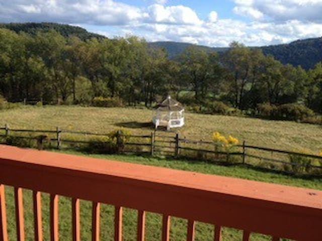 Private & Beautiful Family Retreat  70 acre Ranch - Walton - Haus