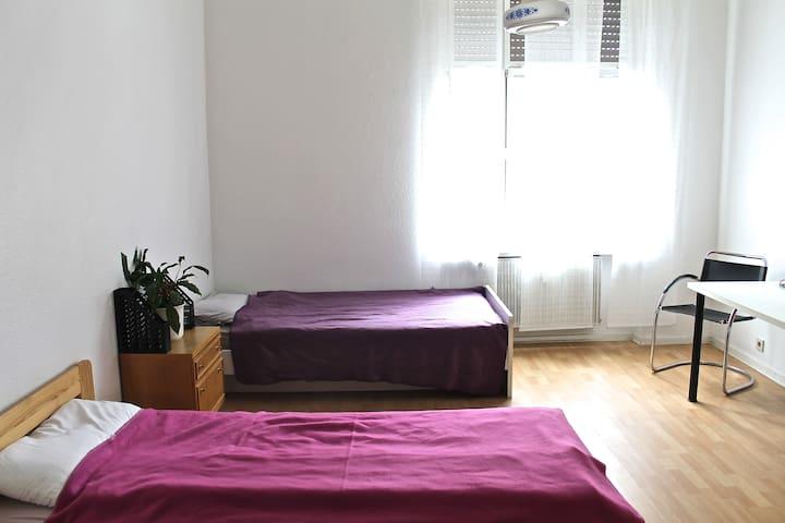 Helle Ferienwohnung direkt am Rhein - Oestrich-Winkel - Appartement