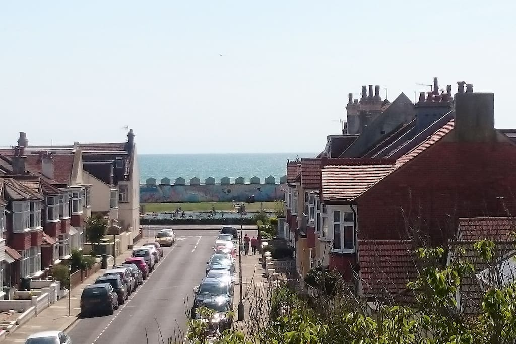 A room with a view - Hove Lagoon just a stone's throw away