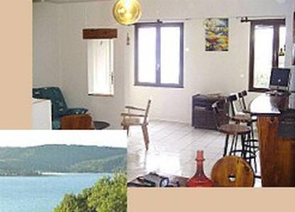 Grand T2 avec vue sur lac - Sainte-Croix-du-Verdon