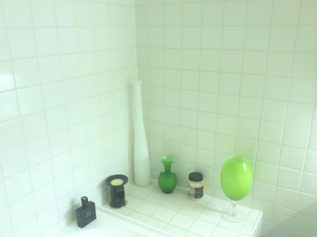 Pristine private bathroom