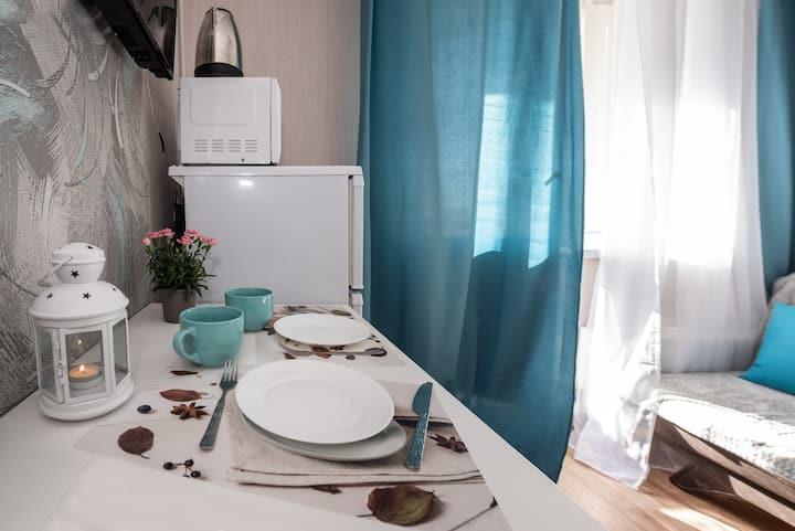 Чистое компактное жилье в Москве