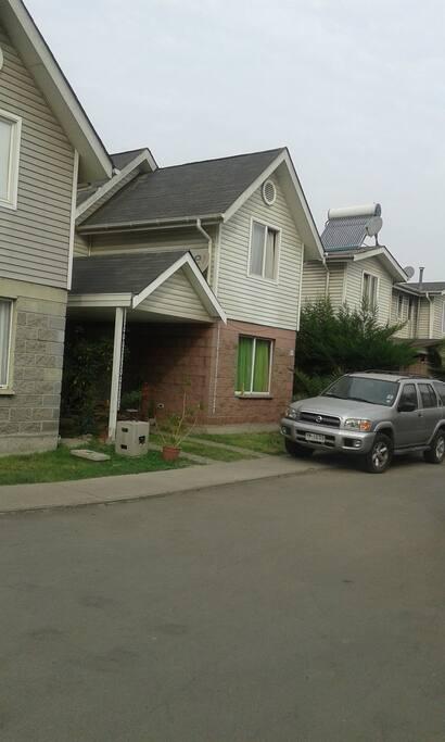 frontis de la casa