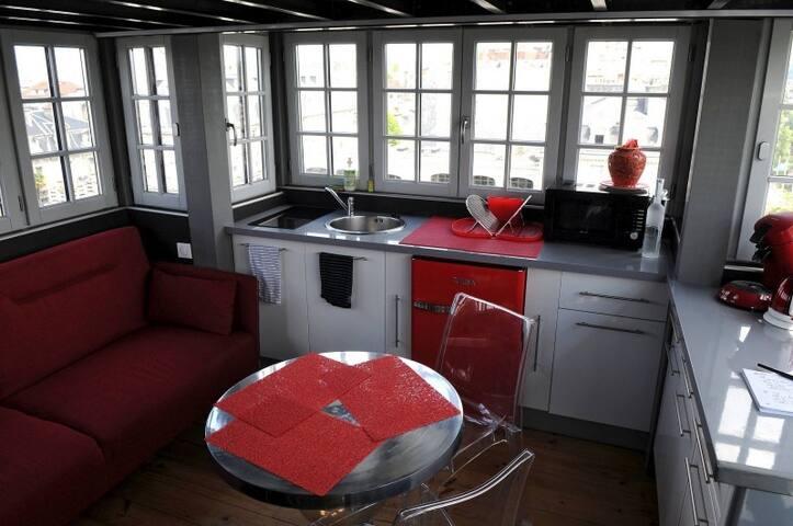 Salon / Cuisine