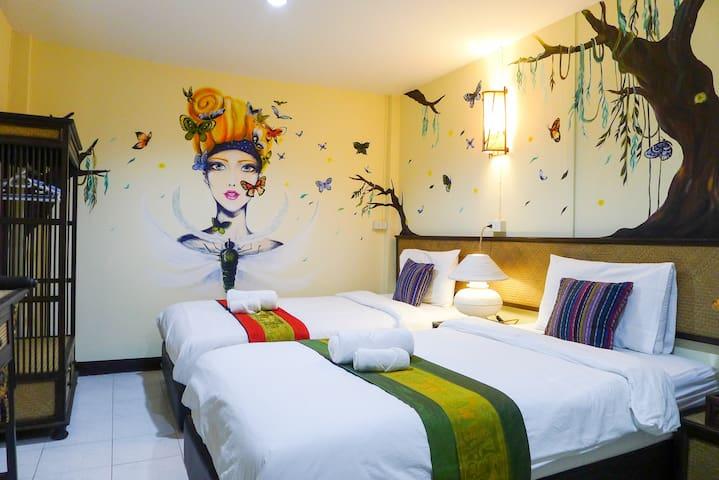 Dream Garden Villa(Twin Bed Room-5) - Amphoe Mueang Chiang Mai - Villa