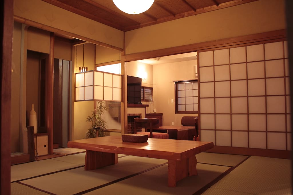 Big Japanese style bedroom