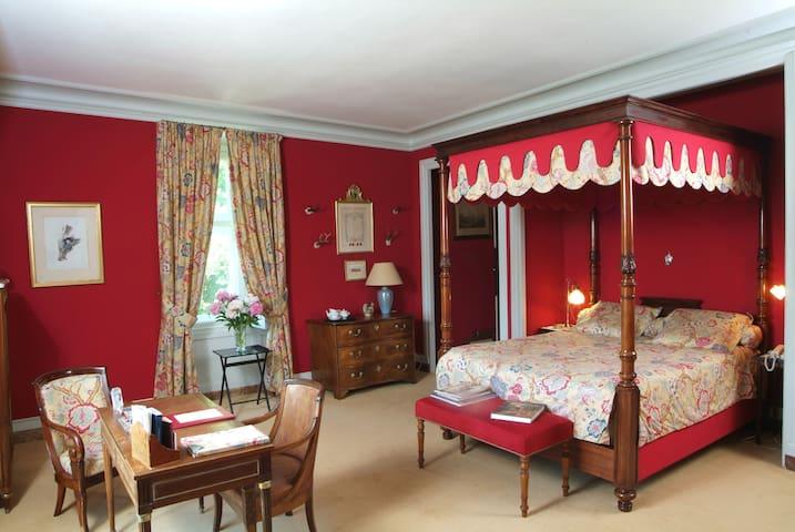 Chambre de Luxe Marquis - Château - Oizon - Castelo