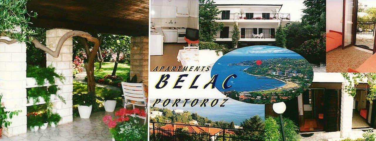Apartment 1 Belac - Portorož - Appartement