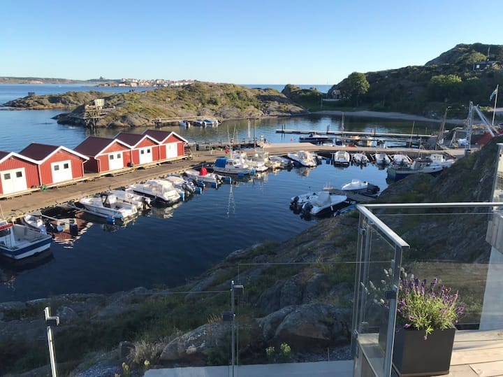 Spectacular seaside view location at Tjorn, Sweden