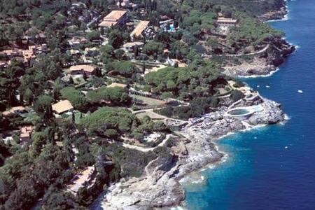 appartamento in villa sul mare Capo d'Arco - Rio Marina