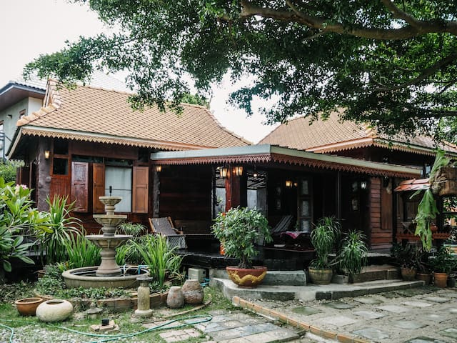 Traditional Northern Thai Lanna Style Home