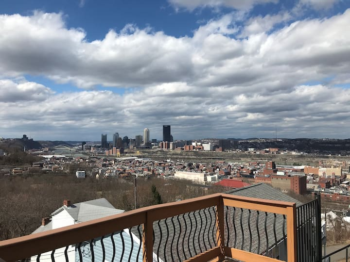Southside slopes private floor with amazing views