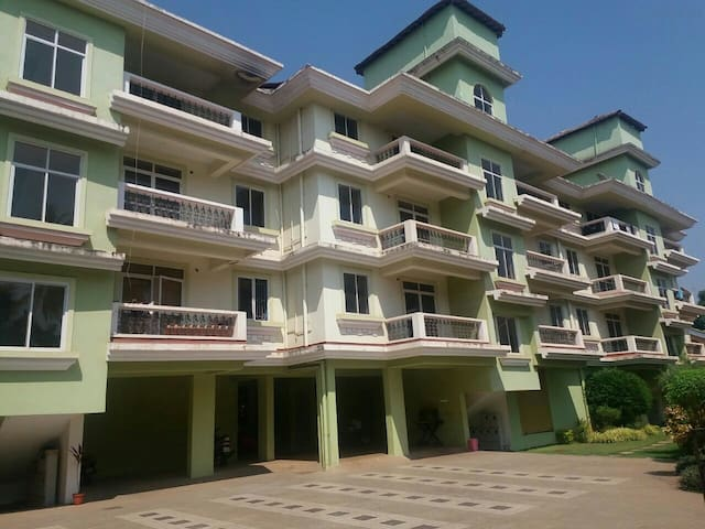 2Bhk fully furnished  Apt - fatrade Varca - Byt