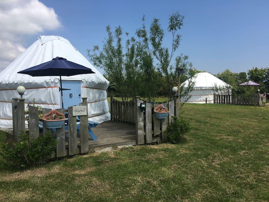 Bluebell Yurt