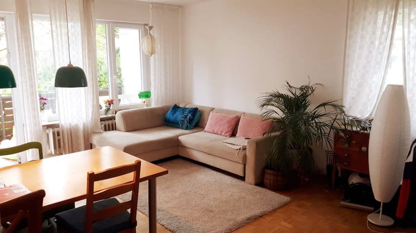 Nice and calm flat near to the Center of Freiburg
