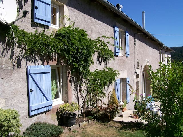 Chez Marie et Clément, au vert - Le Val-d'Ajol - House
