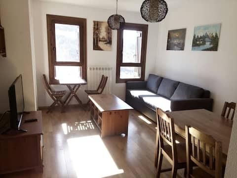 Apartamento en Cerler con maravillosas vistas.