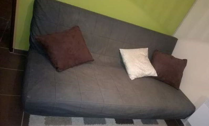 Chambre calme pour repos mérité - Seloncourt - Dom