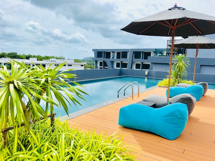 Уютные ,комфортные  апартаменты ,пляж Найхарн