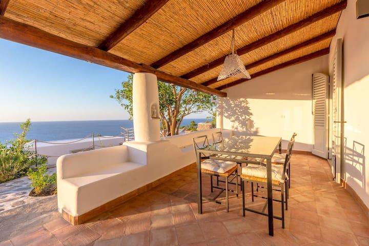 La Casetta del Palmento - vista mare e giardino mediterraneo