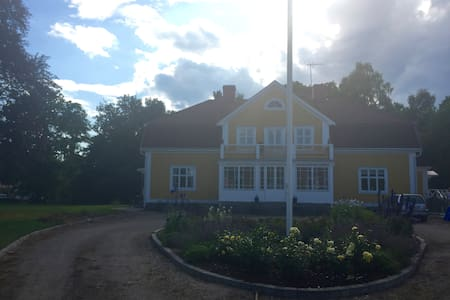 Charming parsonage in beautiful Småland - Vetlanda SV