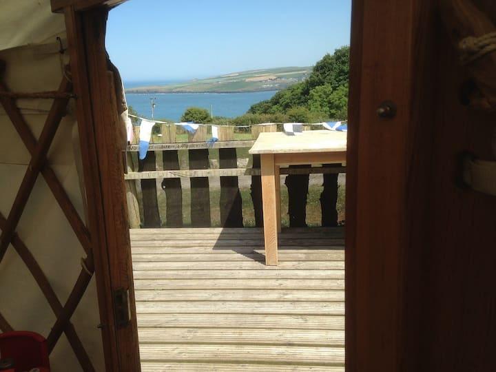 13' Cosy Yurt @AlltycoedCampsite in Pembrokeshire