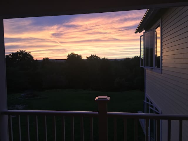 Sunsets over the Western Ridgeline