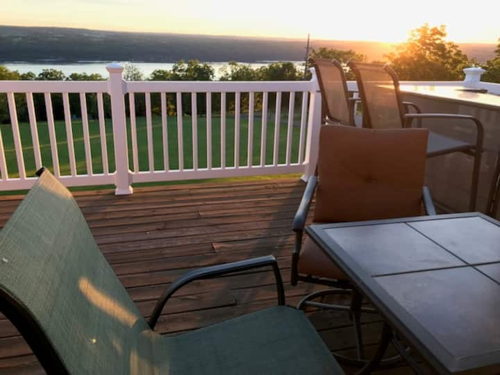 Burdette Home with a View.  Perfect location.