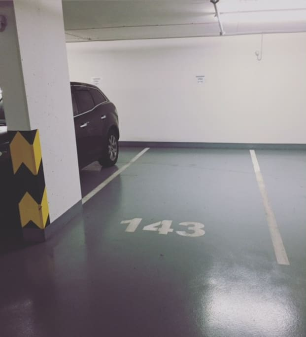 Parking place is available