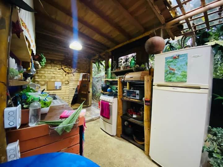 Casa Barco, espacios creados entre la naturaleza.