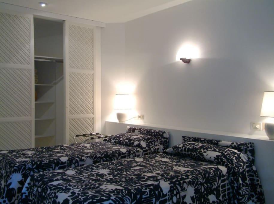 Camera da letto per due persone