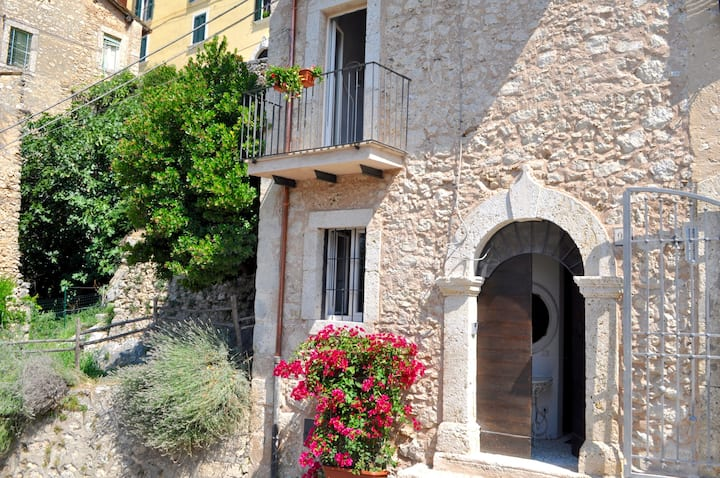 Gorgeous Arpino stone home with amazing view