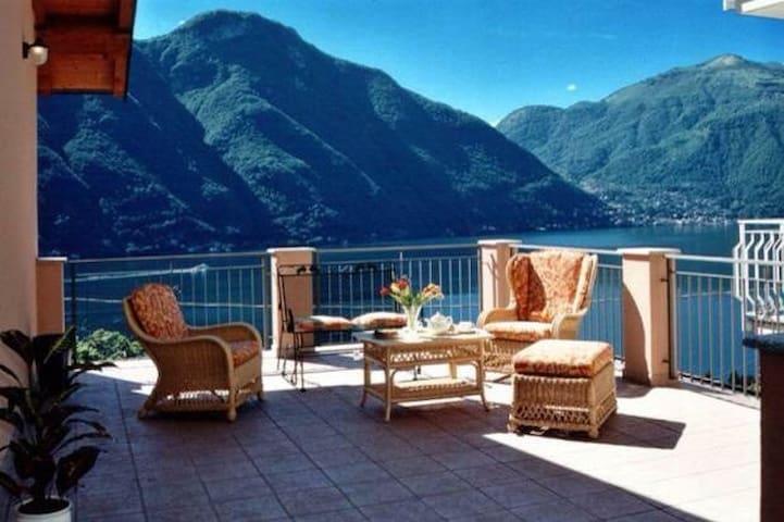 Villa Rosa - Lake Como 'La vista da sogno'