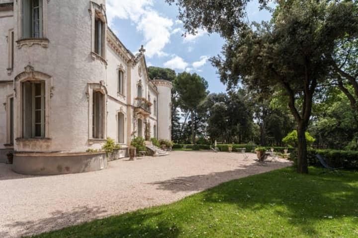 Castle near Montpellier