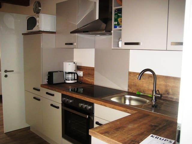 Haus Gartentraum (Sommerhausen), Appartement Fliederblüte(50qm) mit WLAN und Waschmaschine