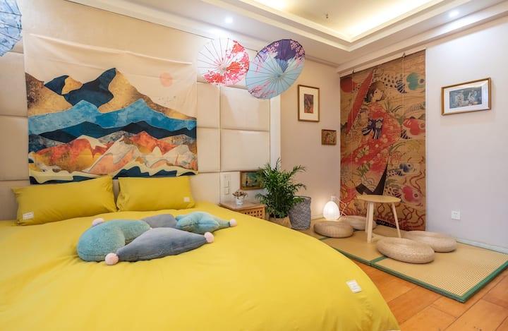 咪咪酱九华山池州贵池区首家超美日式和服风温馨民宿