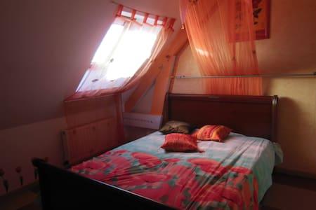 chambre  confort 24 heures du mans - Teloché - Rumah