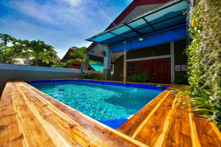 5 bedroom house with private pool near walking street