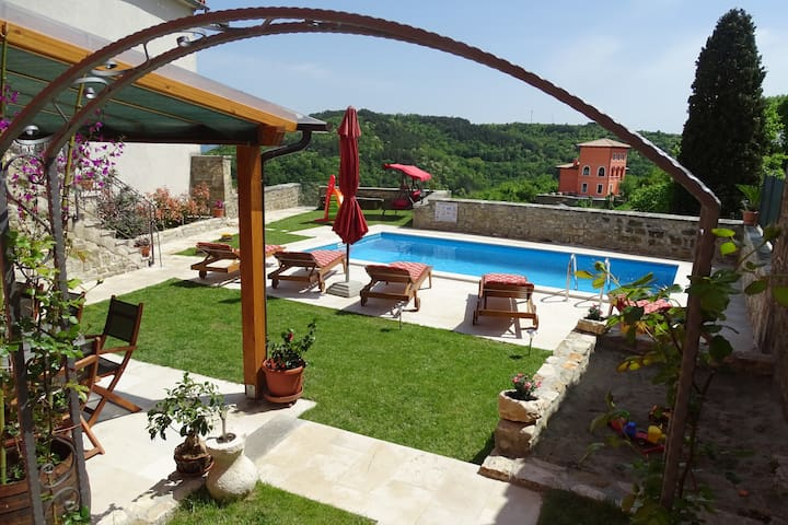 Istrian Villa with pool - Oprtalj - Vila