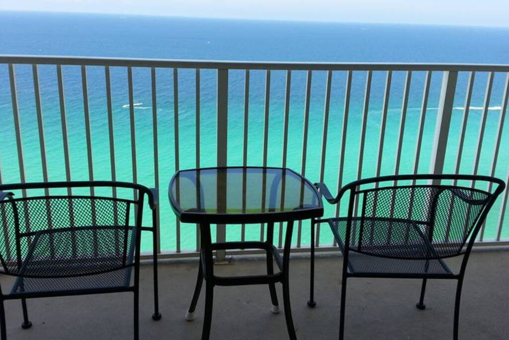 Ocean Front Gulf View from the Balcony