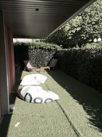 4 Pièces Roland Garros + jardin en lisière Bois