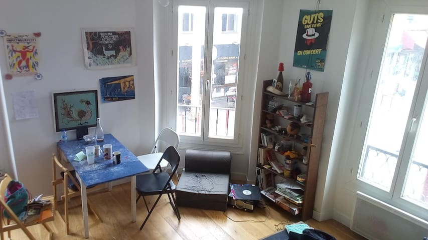 Cosy flat in the center of Le Pré Saint Gervais