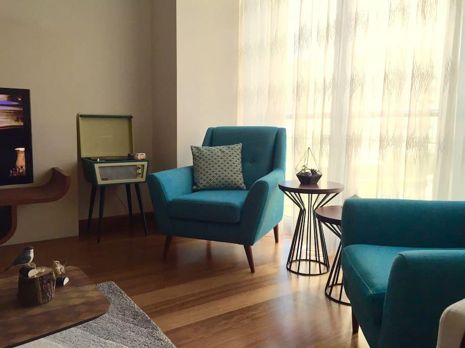 Dinning room/Salon, ortak alan