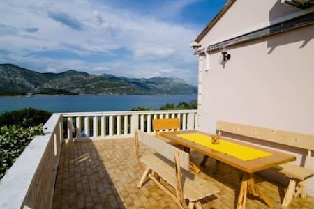 Luxurious home 15m from the beach - Račišće