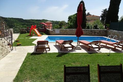 Istrian Villa with pool