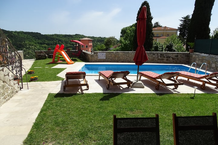 Istrian Villa with pool