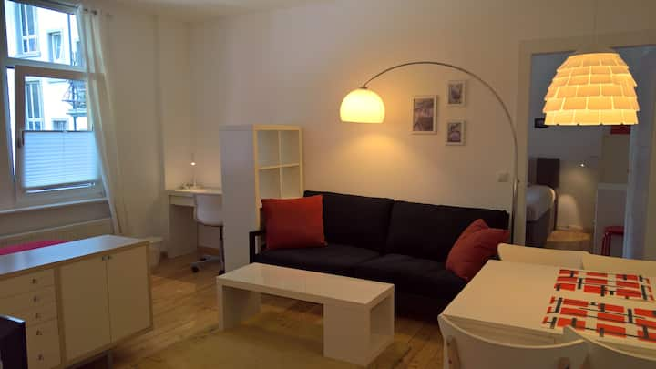 Citynah, hell, ruhig, kids +dogs welcome, sleeps 4